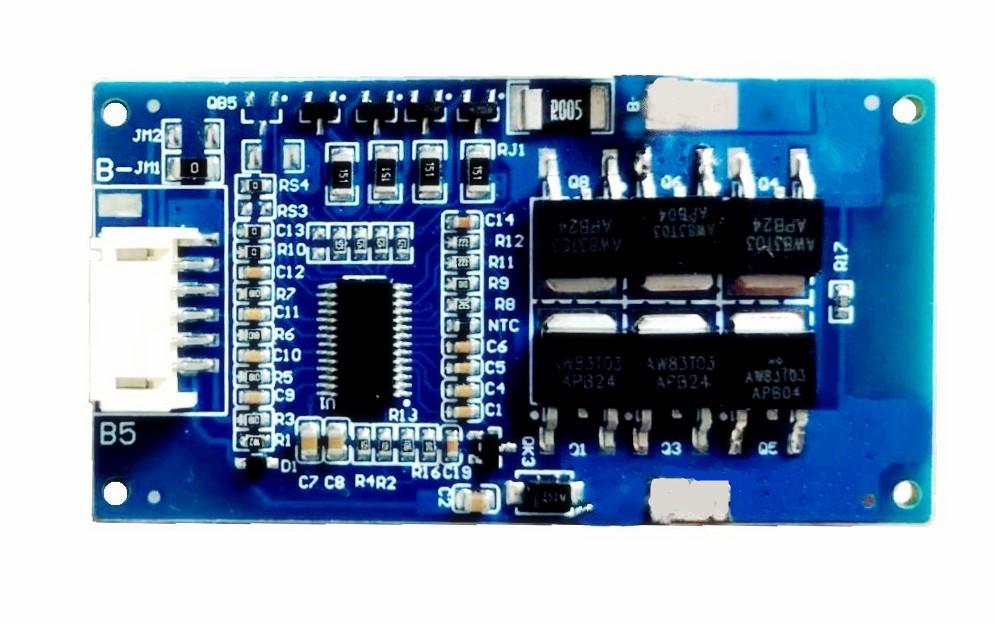 4串15A太阳能路灯铁锂电池硬件保护板